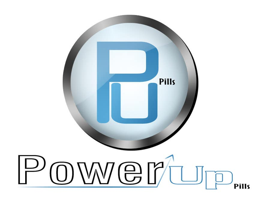 #172 for Logo Design for Power Up Pills by abcreno300