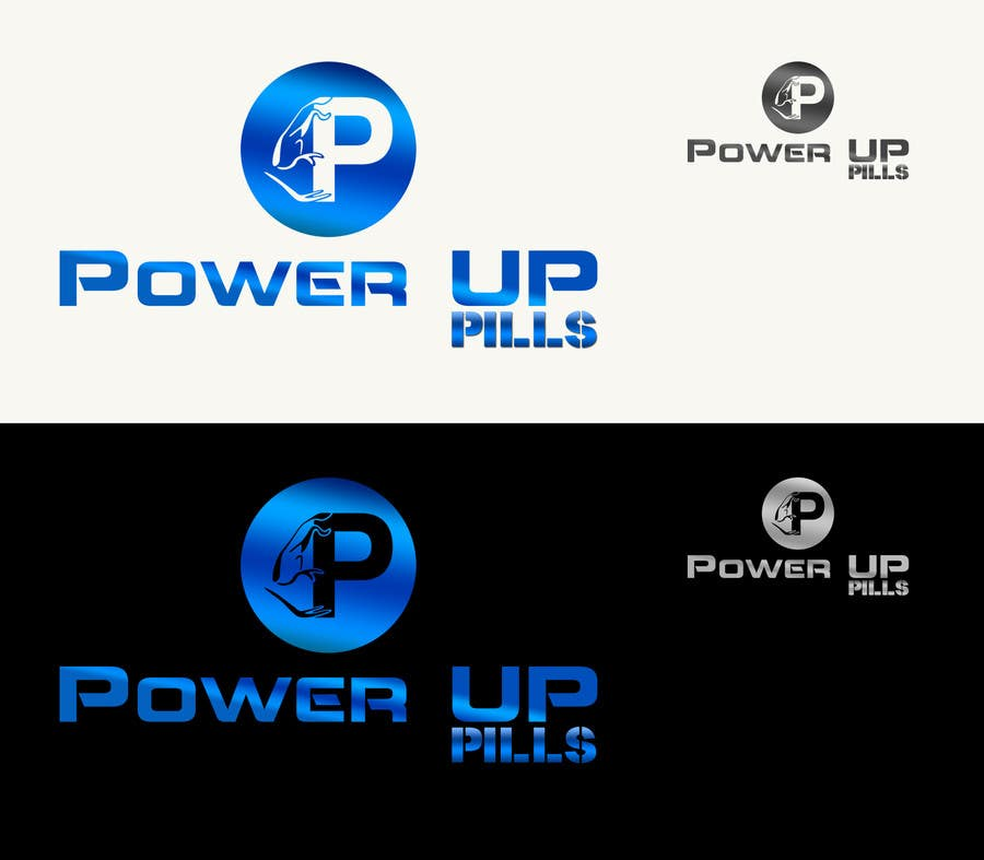 #174 for Logo Design for Power Up Pills by CGSaba