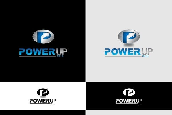 #223 for Logo Design for Power Up Pills by ifulfreeds