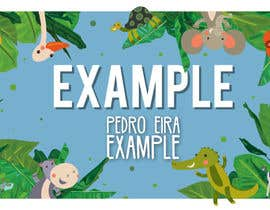 #5 for Fun Baby Themed Website Background Illustrations by pedroeira6