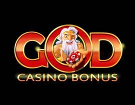 nº 157 pour Logo Design for God Casino Bonus par artinearth