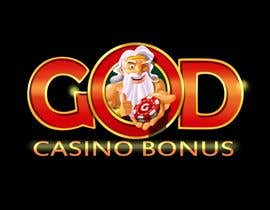 nº 142 pour Logo Design for God Casino Bonus par artinearth