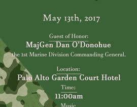 Nro 18 kilpailuun Military Mothers Day Flyer Template käyttäjältä BiancaDeea