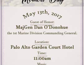nº 46 pour Military Mothers Day Flyer Template par BiancaDeea
