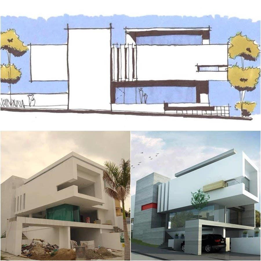 entry 8 by boukheit25210 for villa concept design freelancer. Black Bedroom Furniture Sets. Home Design Ideas