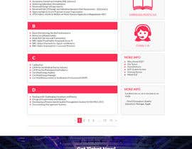 nº 12 pour Design a Website Mockup par WebrandTechno