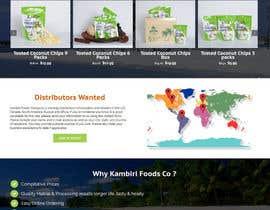Nro 11 kilpailuun Design a Website Mockup käyttäjältä rajbevin