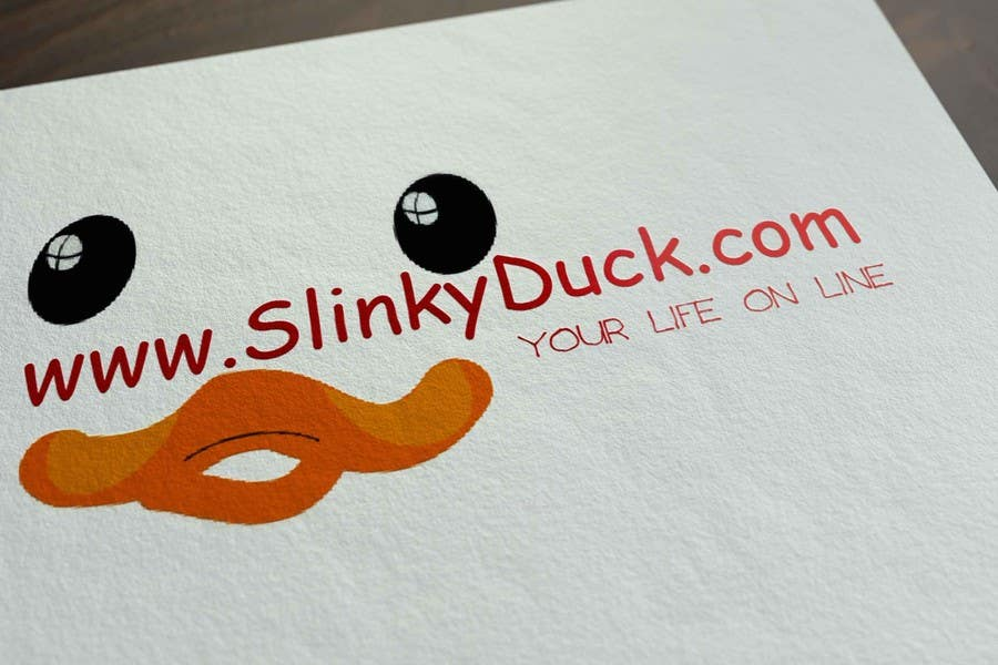 Kilpailutyö #                                        42                                      kilpailussa                                         Design a Logo - SlinkyDuck web site logo