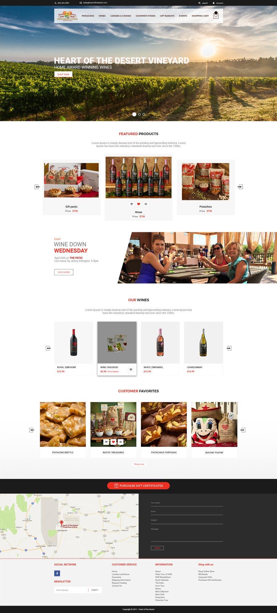 Proposition n°14 du concours Design a Website Mockup for E-commerce Site