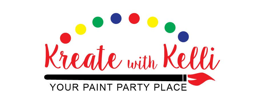 entry 5 by katherinerazzi for paint party logo freelancer