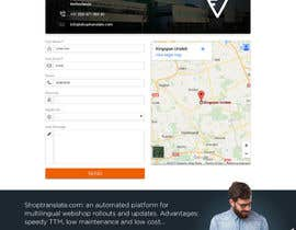 Nro 32 kilpailuun Design website mockups for translation / shop management software käyttäjältä webplane8