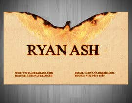 #30 untuk Business Card Design for Ryan Ash oleh liviug