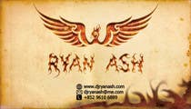 Graphic Design Конкурсная работа №53 для Business Card Design for Ryan Ash