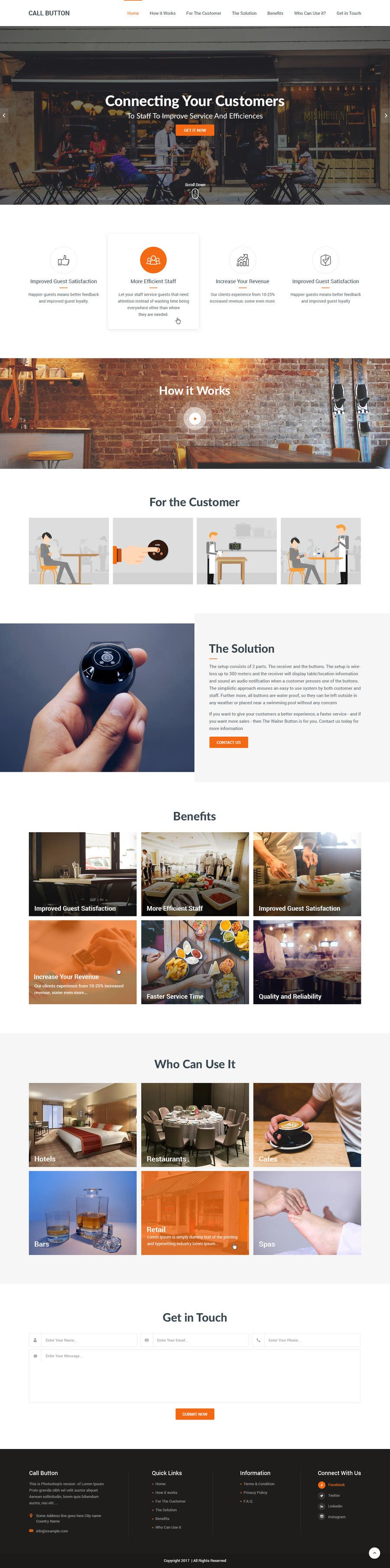 Proposition n°32 du concours Design a Website Mockup for a new product