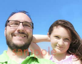 nº 8 pour Photoshop picture with my daughter par saifurny