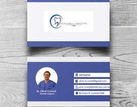 nº 306 pour Design Dental Business Cards par sadiaqucher
