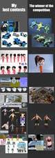 Icône de la proposition n°3 du concours 3D model advanced improvement