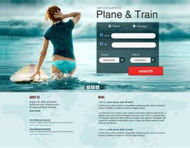 Huntresss tarafından Website Design for International travelplanner: www.airjag.com için no 8