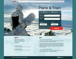 Huntresss tarafından Website Design for International travelplanner: www.airjag.com için no 12