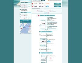 Huntresss tarafından Website Design for International travelplanner: www.airjag.com için no 43