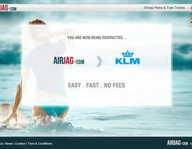 #60 for Website Design for International travelplanner: www.airjag.com by Huntresss