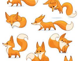 #39 for Fox Illustration - New 10 poses/positions by yurkorymar