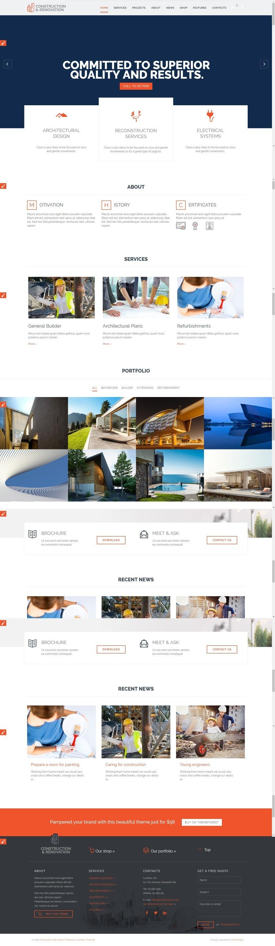 Proposition n°2 du concours Design a Website and provide full Copyright