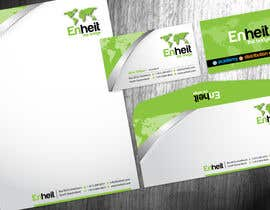 #14 pentru Letterhead, business card and envelop package design for Enheit de către Brandwar