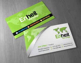 #13 untuk Letterhead, business card and envelop package design for Enheit oleh Brandwar