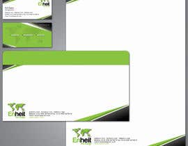 nº 35 pour Letterhead, business card and envelop package design for Enheit par csharpdotnettech