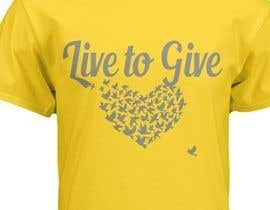 #9 for Design Live to Give T-Shirt by Wafula5555