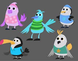 nº 61 pour Create a bird cartoon character par JavierCordero92