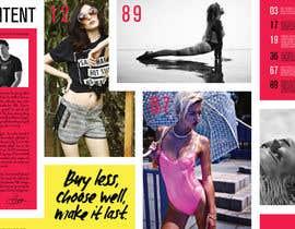 nº 9 pour Fashion Magazine Design par smrithi88