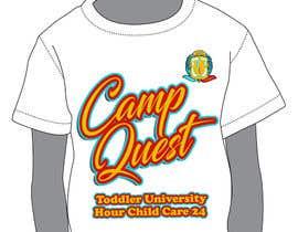 nº 14 pour Todd U Summer Camp T-Shirt par katrinabits
