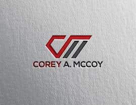 nº 39 pour Corey A McCoy Logo par visualtech882