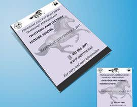 nº 7 pour Okotoks & District Horse Show Program and Pattern Book par buleeye99