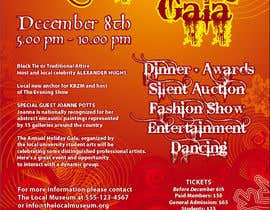 #6 para Print & Packaging Design for Full color, eye catching poster & event ticket for a HOLIDAY GALA por susurs1201