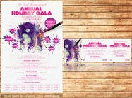 Graphic Design Заявка № 9 на конкурс Print & Packaging Design for Full color, eye catching poster & event ticket for a HOLIDAY GALA