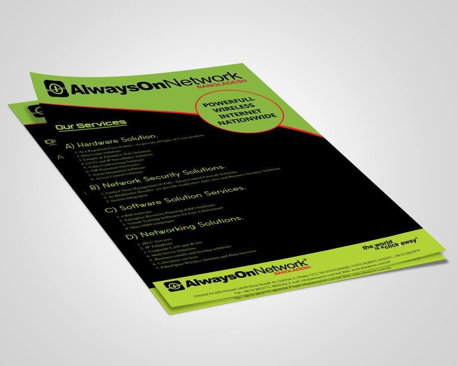 Proposition n°49 du concours Design a Flyer on our services