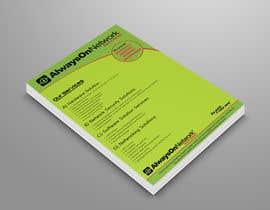 nº 54 pour Design a Flyer on our services par mmhmonju