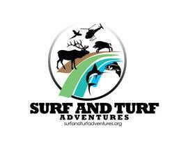 Nro 377 kilpailuun Logo for surfandturfadventures.org käyttäjältä Romona1