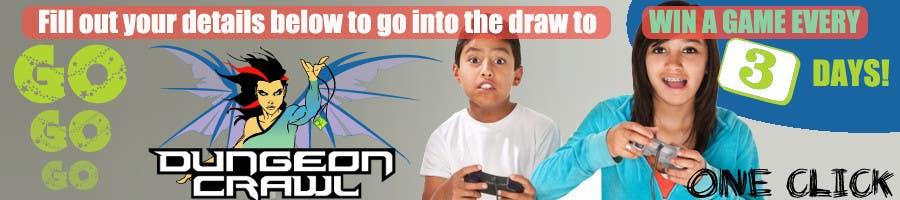 Penyertaan Peraduan #                                        40                                      untuk                                         Banner Ad Design for Dungeon Crawl