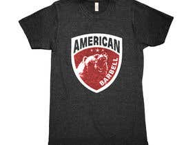 #74 for Design a T-shirts for American Barbell - 10 designs needed by greenpeacepait