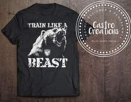 #165 for Design a T-shirts for American Barbell - 10 designs needed by castroralph17