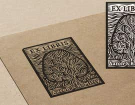 #5 for Illustrate a Personal Book Stamp (Ex Libris) by kelelowors