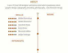 nº 7 pour i need some design for my resume par davidjawphan