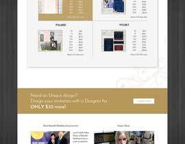 Nro 12 kilpailuun Design a Website Mockup käyttäjältä kevalthacker