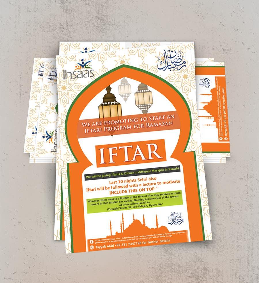 Kilpailutyö #                                        31                                      kilpailussa                                         Ihsaas Trust Ramazan Iftari Program