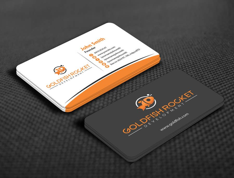 Entry #38 by mamun313 for Design some Business Cards for software ...