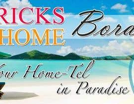 chaselibrado tarafından Design a Banner for Patrick's Home Boracay için no 27